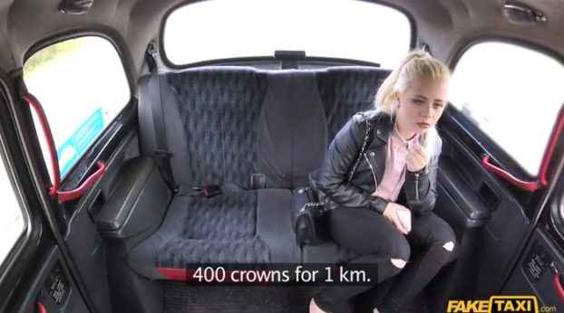 FakeHub - FakeTaxi - Shy Blonde Teen with Natural Tits with Anna Rey