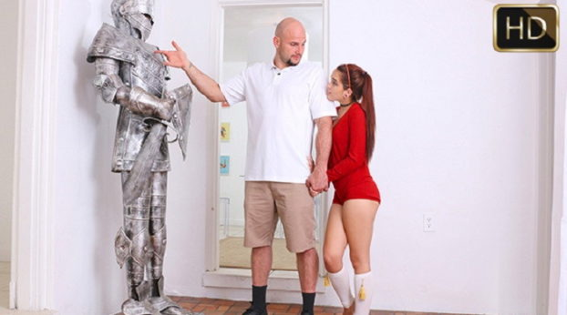 TeamSkeet - Exxxtra Small - Chivalry For A Small Chick with Brooke Haze & Jmac