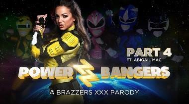 Brazzers - ZZ Series - Power Bangers A XXX Parody Part 4 Abigail Mac & Danny D