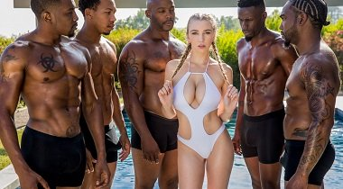 Blacked.com - I've Never Done This Before Featuring Kendra Sunderland, Ricky Johnson, Jason Brown, John Johnson, Isiah Maxwell & Nat Turnher