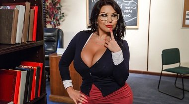 Brazzers Big Tits At School Our College Librarian with Sheridan Love & Tyler Nixon