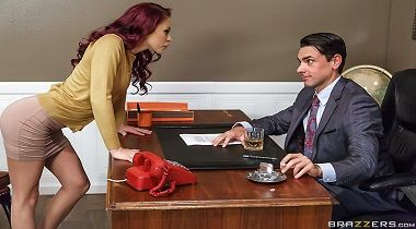 Brazzers - Big Tits At Work – Getting Off The Typing Pool - Monique Alexander & Ryan Driller