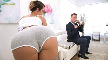 Brazzers - Dirty Masseur – Taking Care Of Businessman with Jada Stevens & Jessy Jones 380x210