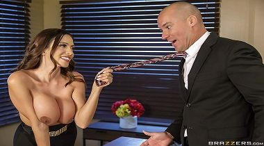 Brazzers - Big Tits At Work - Fellatio From The She-E-O with Ariella Ferrera & Sean Lawless 380x210