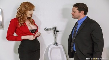 Brazzers - Big Tits At Work - Closed for Maintenance with Lauren Phillips & Preston Parker 380x210