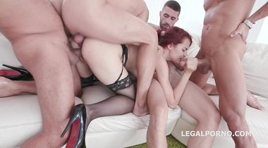 Legalporno - Dap Destination with Scyley Jam, Balls Deep Anal , DP , DAP ,GAPES ,Facial GIO443 380x210
