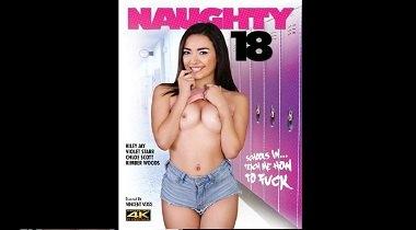 Porn movie Naughty 18 Violet Starr - scene 1