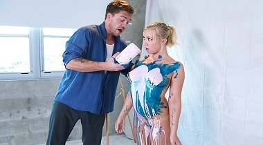 Brazzers Exxtra - Paint Job with Bailey Brooke & Kyle Mason 1080p 380x210