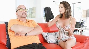 Familystrokes Silvia Saige on Stepmom Found My Jizz Rag by Teamskeet 380x210
