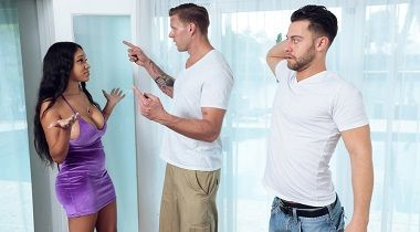 Realitykings.com - Party Favors with Seth Gamble & Yello - Round and Brown 380x210