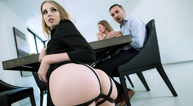 Brazzers.com - Teens Like It Big Going Through A Fucking Phase with Chloe Scott & Keiran Lee 380x210
