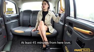 Faketaxi - Lady tries deepthroating big cock with Myla Elyse 380x210