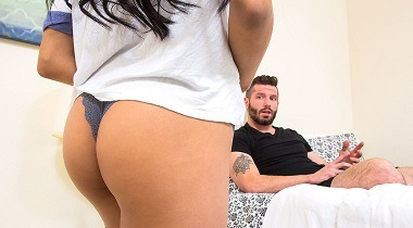 Naughtyamerica - My Sister's Hot Friend Ember Snow & Mike Mancini 380x210