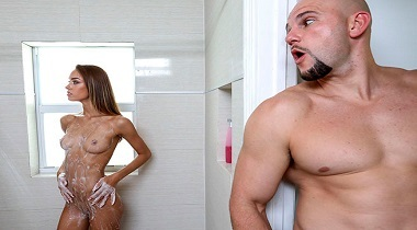 Bangbros 18 - Charity Post Workout Protein Shake with Charity Crawford 380x210