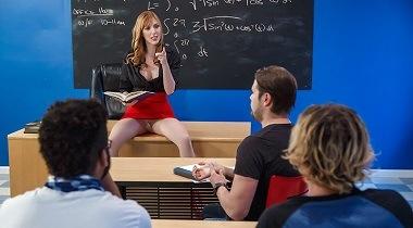 Brazzers Free My Professor's Pantyhose by Lauren Phillips & Tyler Nixon - Big Tits At School 380x210