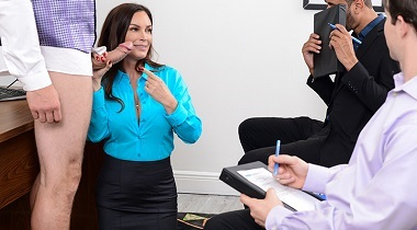 Brazzers.com - Big Tits At Work - HR Whorientation with Diamond Foxxx & JMac 380x210