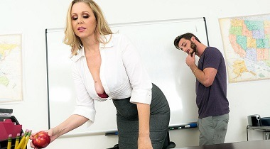Naughtyamerica - My First Sex Teacher Julia Ann & Lucas Frost 364x204