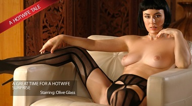 Newsensation - Olive Has A Hotwife Surprise with Olive Glass & Xander Corvus 380x210