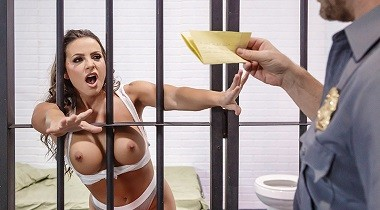 Brazzers - Real Wife Stories - Horny & Dangerous Conjugal Visit Abigail Mac & Johnny Sins