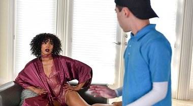 Bangbros.com - MomIsHorny - StepSon Fucks His Way Out Of Punishment by Misty Stone Juan & El Caballo Loco 380x210