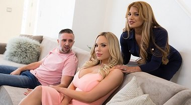 Brazzers hd - Couples Counselling Mercedes Carrera, Olivia Austin & Keiran Lee - Real Wife Stories 380x210