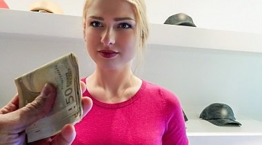 Mofos.com - Blonde Filled With Customer Service by Lucy Heart - Public Pickups 380x210