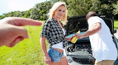 Realitykings - Oil Change by Kyle Mason & Sydney Hail - Milf Hunter 380x210