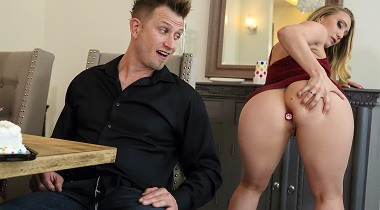 Brazzers - Anal Surprise Party AJ Applegate & Bill Bailey - Big Butts Like It Big 380x210