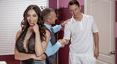 Brazzers hd - Dirty Masseur - Polishing His Trophy Ariella Ferrera & Justin Hunt 380x210