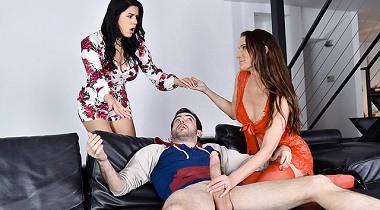 Teamskeet - Badmilfs - Sofie Marie & Monica Sage in Treat Me Like You Treat My Stepdaughter 380x210