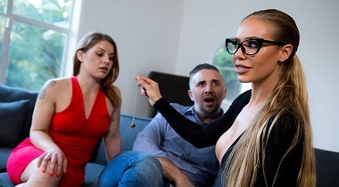 Brazzers Exxtra - Fix Your Fucking Marriage Nicole Aniston & Keiran Lee 380x210