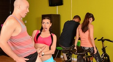 Realitykings 720p - Sneaky Spinning with Rachel Starr & Sean Lawless Sneaky Sex 380x210