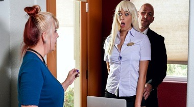 Brazzers - Big Tits At Work - Checking Into Athena Athena Palomino & Johnny Sins 380x210