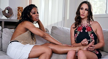 Brazzers - Our Cute Little Plaything 3 Ashley Adams, Misty Stone & Isiah Maxwell 380x210