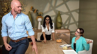 Brazzers - Cumpany Lunch by Tia Cyrus & Johnny Sins 380x210