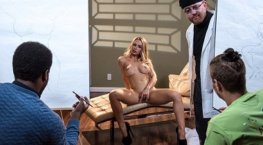 Brazzers - Abstract Sexpressionism by Nicole Aniston & Xander Corvus 380x210