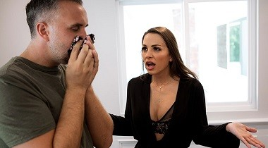 Brazzers.com - Real Wife Stories - Between A Cock And A Hard Place by Abigail Mac & Keiran Lee 380x210