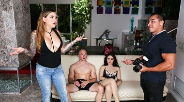Realitykings - Competitive Casting by Karmen Karma, Lenna Lux & Zachary Wild - Moms Bang Teens 380x210