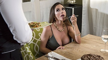 Brazzers 1080p - Dinner for One, Table for Two Ariella Ferrera & Kyle Mason 380x210