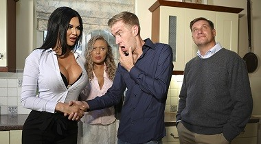 Brazzers.com - Mommy Got Boobs - Tea And Crump-tits Jasmine Jae & Danny D 380x210