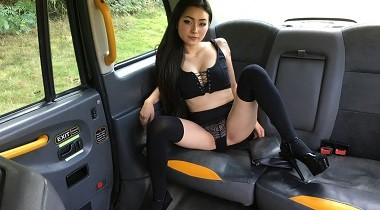Faketaxi - Hot Japanese deepthroat skills by Marc Rose & Rae Lil Black 380x210
