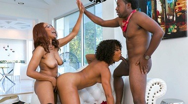 Filthyfamily.com - Lets Keep it in The Family by Misty Stone & Jenna Foxx 380x210