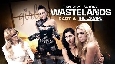 Girlsway - Fantasy Factory Wastelands (Episode 4) by April O'Neil, Abigail Mac, Cherie DeVille & Kenna James 380x210