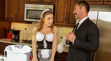 Brazzers Exxtra - What A Maid Wants Britney Amber & Charles Dera 380x210