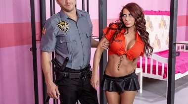 Brazzers - Glam Jail Nail by Madison Ivy & Xander Corvus 380x210