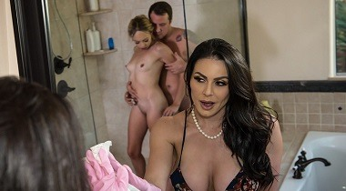 Brazzers hd - Moms In Control - Let's All Shower Together Kendra Lust, Zoe Clark & Jessy Jones 380x210