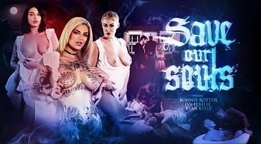 Digitalplayground - Save Our Souls scene 4 with Bonnie Rotten, Ivy Lebelle, Rya 380x210