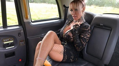 Faketaxi - Busty stripper wants big black cock by Brooke Jameson & Kai Cox 380x210
