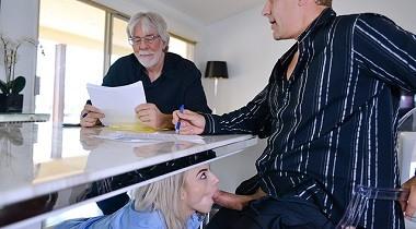 Teamskeet - Stevie Grey in Business And Petite Pleasures - Exxxtrasmall 380x210