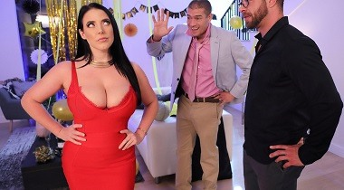 Brazzers - Real Wife Stories - Fappy New Year with Angela White & Xander Corvus 380x210